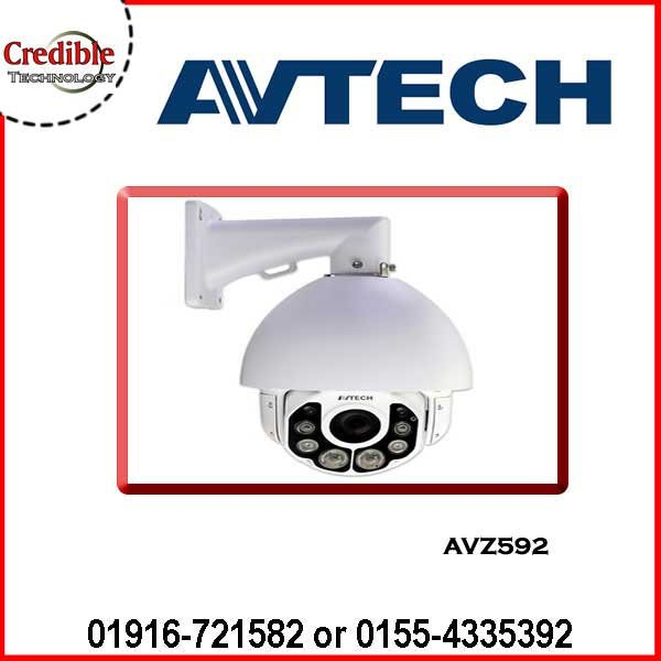 AVZ592 Avtech 2MP 20X Speed Dome Camera
