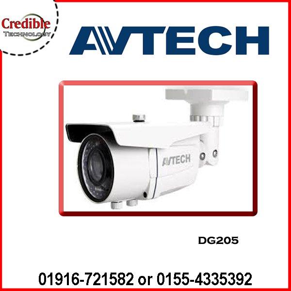DG205 AVTECH CCTV IR BULLET CAMERA