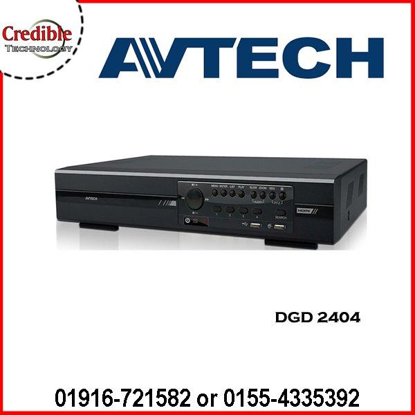AVTECH DGD2404   Avtech HD-TVI DVR price