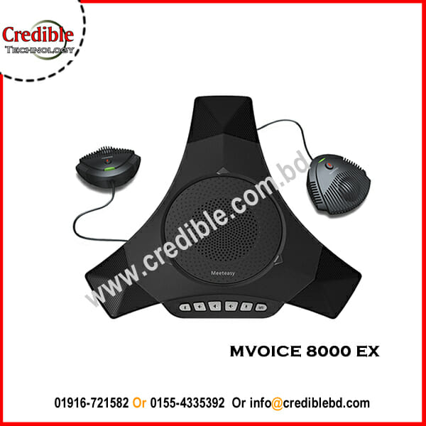 MVOICE 8000 EX Expandable USB Speakerphone