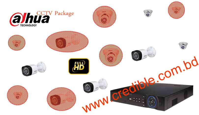 Dahua CC Camera Package Price list in Bangladesh