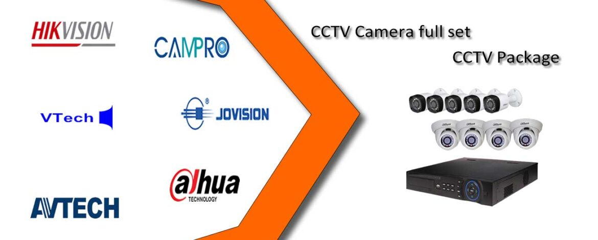 CCTV Camera full set and other information about it: